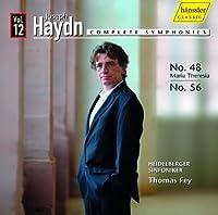 Symphonies Nos 48 56 V.12 by JOSEPH HAYDN (2010-05-25)