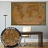 GREAT ART XXL Poster – Planisfero Storico XXL – Fotomurales Decorazione da Parete Glob...