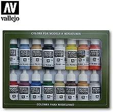 70140 Model Colour Basic Colors USA 16 Colour Acrylic Paint Set