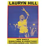 Lauryn Hill - Riesenposter Everything is everything
