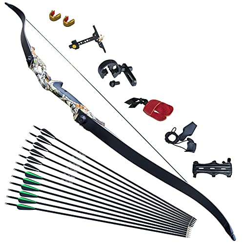 D&Q Takedown Recurve Bow Bow and Arrow for Adults Archery Set Adult Metal...