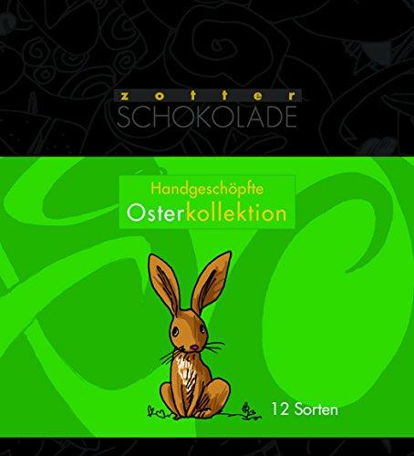 Handgeschöpfte Minis Oster Kollektion 12 Schokoladen - 240 g - Bio & Fair -