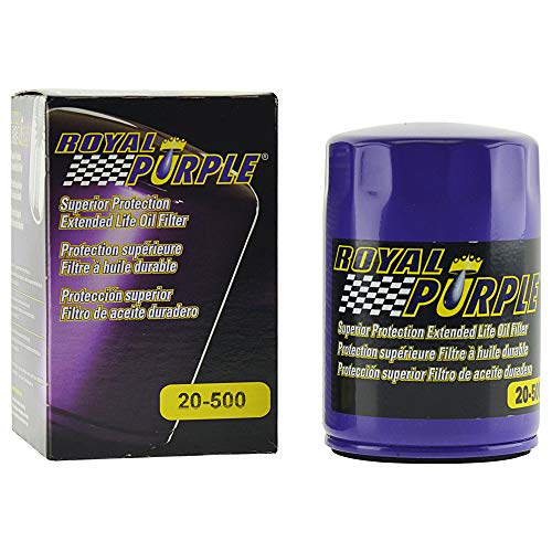Royal Purple Extended Life Premium Oil Filter 20-500, Engine Oil Filter for Buick, Cadillac, Chevrolet, and GMC