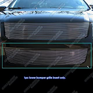 APS Compatible with 2006-2009 Ford Fusion Lower Bumper Billet Grille Insert N19-A49468F
