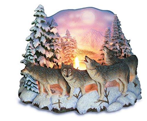 Katerina Prestige- Candelabro 4 Lobos arbustos Nieve MO0164