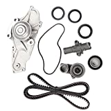 Timing Belt Kit including timing Belt water pump with gasket tensioner bearing etc,OCPTY Compatible for 08 09 10 for Honda Odyssey/04 05 06 07 08 09 10 11 12 13 14 15 for Honda Pilot