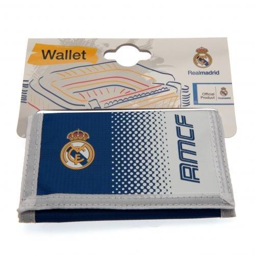 Portefeuille officiel Real Madrid FC en nylon – Une excellen