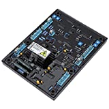 Contrôleur de générateur de régulateur de tension automatique stable AVR MX321 pièces de groupes électrogènes 170-220VAC PMG 3 phase 3A pour générateur