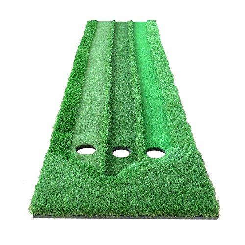 TT Three Speed Grass Golf Putt Practice Mat intérieur Mini exercice couverture 70 * 300cm