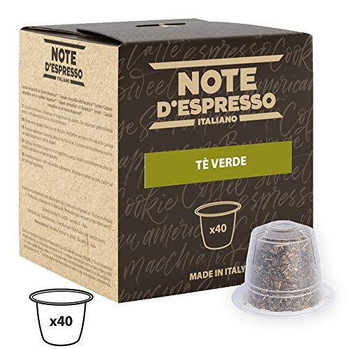 Note D'Espresso - Cápsulas de té verde...