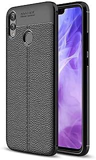 Samsung Galaxy A30 back cover Silicon Auto Focus - Black