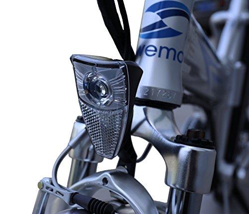 swemo 20 Zoll Alu Klapp E-Bike/Pedelec SW100 (Silber) kaufen  Bild 1*