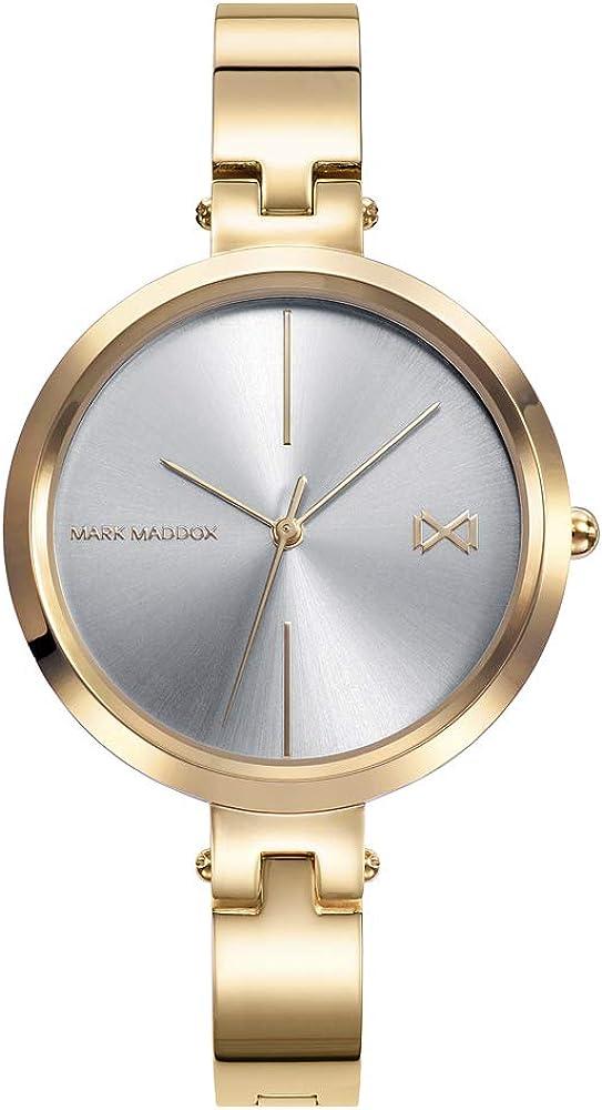 Mark maddox, orologio da donna, in acciaio ip oro MM0113-97