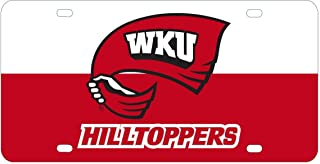 Stockdale Western Kentucky Hilltoppers Full Color Mega Inlay License Plate