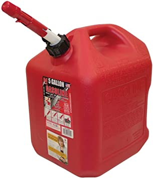 Midwest Can (MWC5600) 5 Gallon Auto Shutoff Gasoline Can: image