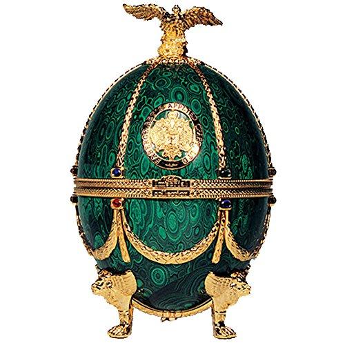 Vodka Imperial Collection Faberge Ei Smaragdgrün