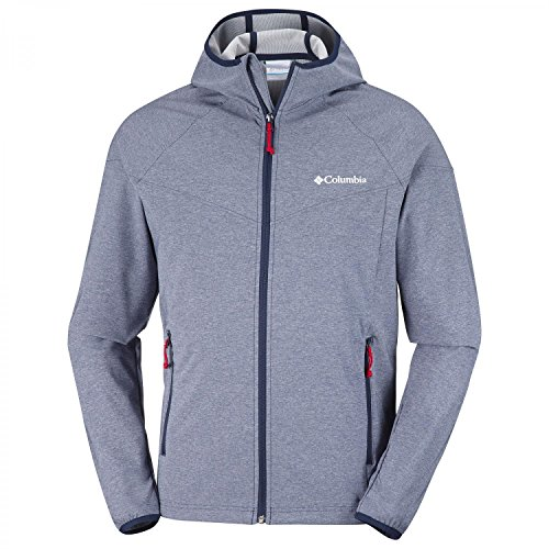 Columbia WM1207 Softshell Homme Collegiate Navy Heather FR : M (Taille Fabricant : M)