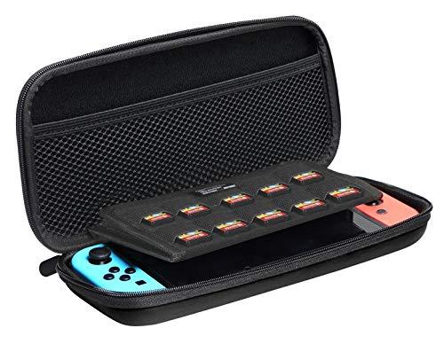 AmazonBasics - Tragetasche für die Nintendo Switch - Schwarz