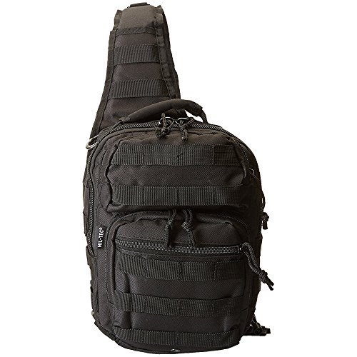 Mil-Tec US Assault Pack One Strap small Schwarz