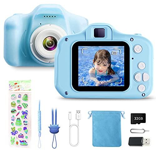 Kids Digital Camera Mini Rechargeable Child camera Kiddie Zoom Camera...
