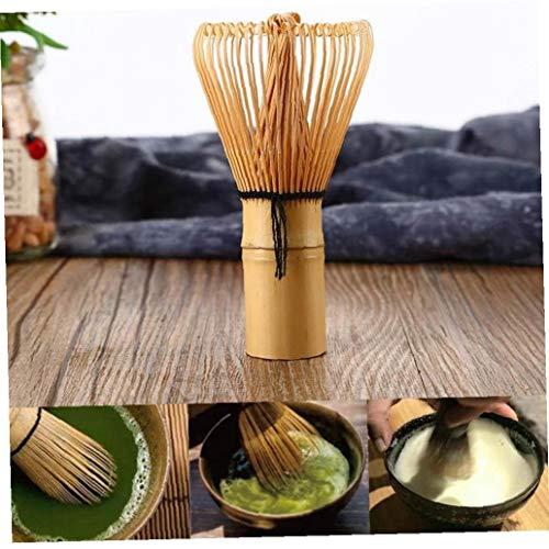 Zonfer 1pc Handgemachte Teebesen Pulver Whisk Hochzeit Grüner Tee Zubereiten Matcha Pinsel Bambus Graceful Chasen Japanische Art Pinsel