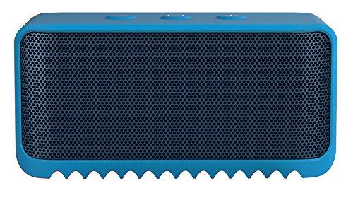 Jabra Solematemini Bluetooth-Lautsprecher (Bluetooth 3.0, NFC, Freisprechfunktion) blau