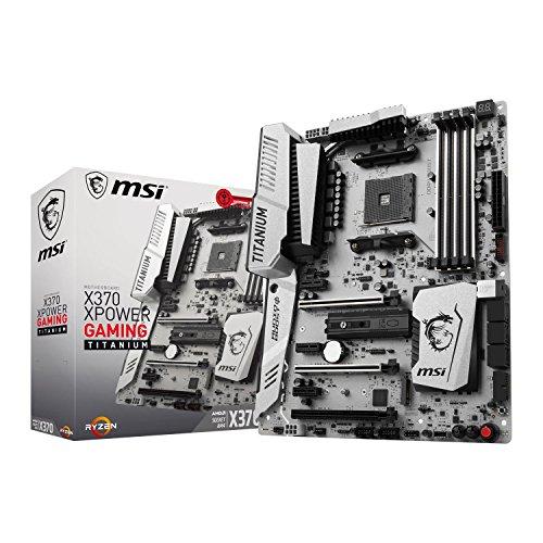 MSI X370 Xpower Gaming Titanium Scheda Madre, Nero