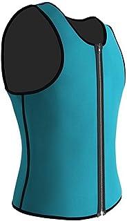 2019 Men Waist Trainer Vest for Weightloss Hot Neoprene Corset Body Shaper Zipper Shapewear Slimming Belt Belly Men YJXUSH...