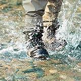 NeyGu 磯靴ウェーディングシューズ フエルト底 穴抜き付き 渓流釣り 磯用 沢登り保温防寒 滑り止め (8)