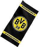 Borussia Dortmund asciugamano da bagno/doccia/telo mare con stemma BVB 09
