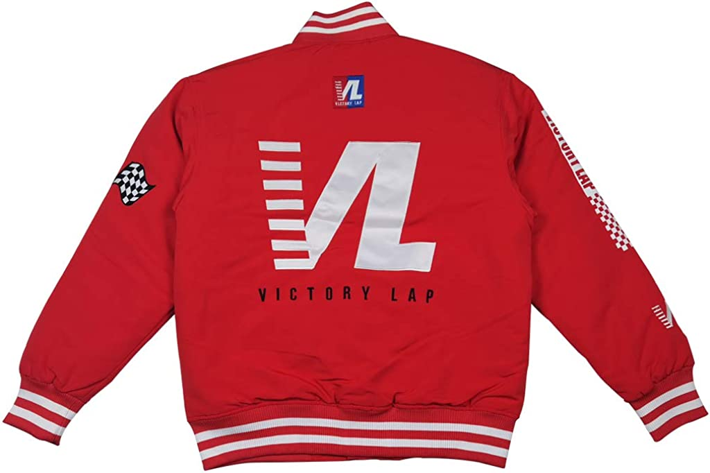Men's Victory San Diego Miami Mall Mall Lap Cover Hip Hop Jacket Satin Rap Blue Baseball S