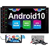 Best Pumpkin Navigations - Android 10.0 Car Stereo Navigation Bluetooth Radio Double Review