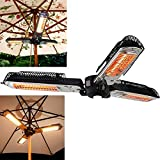 Patio Electric Heater Umbrella Folding...