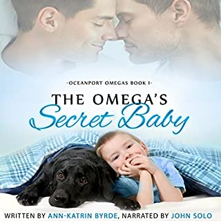 The Omega's Secret Baby audiobook cover art