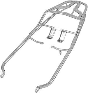 Bagageiro Tubular Preso no Amortecedor Pro Tork Honda Titan e Fan Cromado
