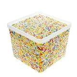 euiristore poliestireno bolas 0,1–0,14cm para Slime DIY Hogar Escuela artes Oficios, Mixed Color (20000pelotas de espuma)