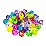 YIJIAOYUN 40 Pezzi Multicolore Bomboniere Grandi Diamanti Acrilico Gemme Pirate Artificial...