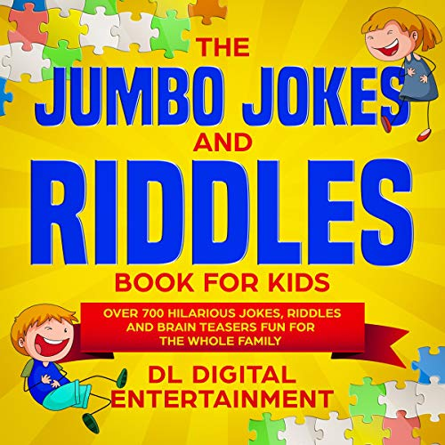 『The Jumbo Jokes and Riddles Book for Kids』のカバーアート