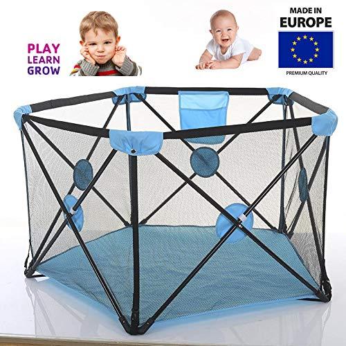 Tavalax Laufstall, schnell auseinandergeklappt | Kinder Baby Laufstall Laufgitter | Laufgitter & -ställe