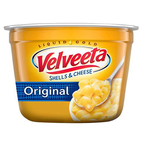 Velveeta Original Easy Mac Shells and Cheese (10 Microwaveable Cups)