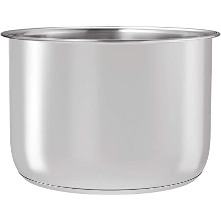 Goldlion Stainless Steel Inner Pot Compatible with Ninja Foodi 8 Quart Accessories Replacement Insert Liner