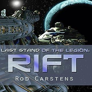 Last Stand of the Legion: Rift audiobook cover art