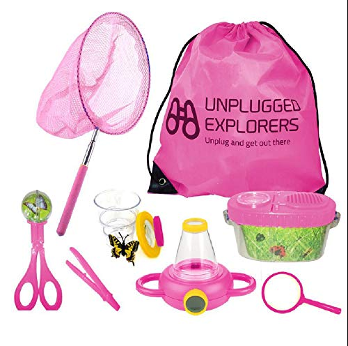 Unplugged Explorers 10 Piece Bug Kit (Pink)