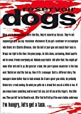 Poster Reservoir Dogs - Mr White Quote - preiswertes