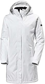 Helly Hansen Women's Aden Insulated Waterproof Windproof Breathable Long Length Packable Hood Rain Coat Jacket