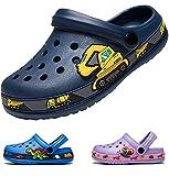 Zuecos Niños Sandalias Zapatillas de Playa Resbalón en Jardín Zapatos Mulas EVA Clogs Niña Niño Darkblue 29 EU