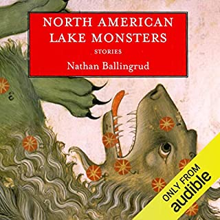 North American Lake Monsters audiobook cover art