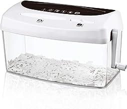 $92 » GFYWZZ Mini Hand Shredder Portable Paper Shredder A4 Manual Shredder Documents Paper CD and Credit Cards Cutting Tool Home...