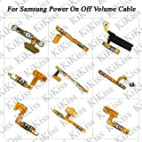 Lysee Mobile Phone Flex Cables - KiKiss Repair Parts Power Button Mobile Phone Volume On/Off Flex Cable For Samsung Note 7 8 C9 E5 E7 On 5 S2 S3 S8 S8 Plus Parts - (Color: C9 On Off)