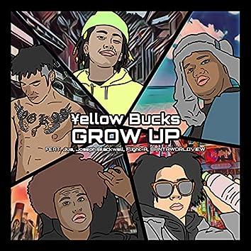 Grow Up (feat. Jua, Joseph Blackwell, Flight-A & SANTAWORLDVIEW)